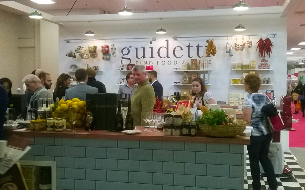 Guidetti make you feel right at home in their kitchen