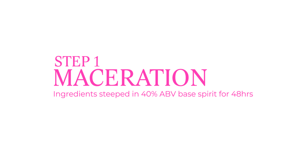 crazy gin step 1 maceration process