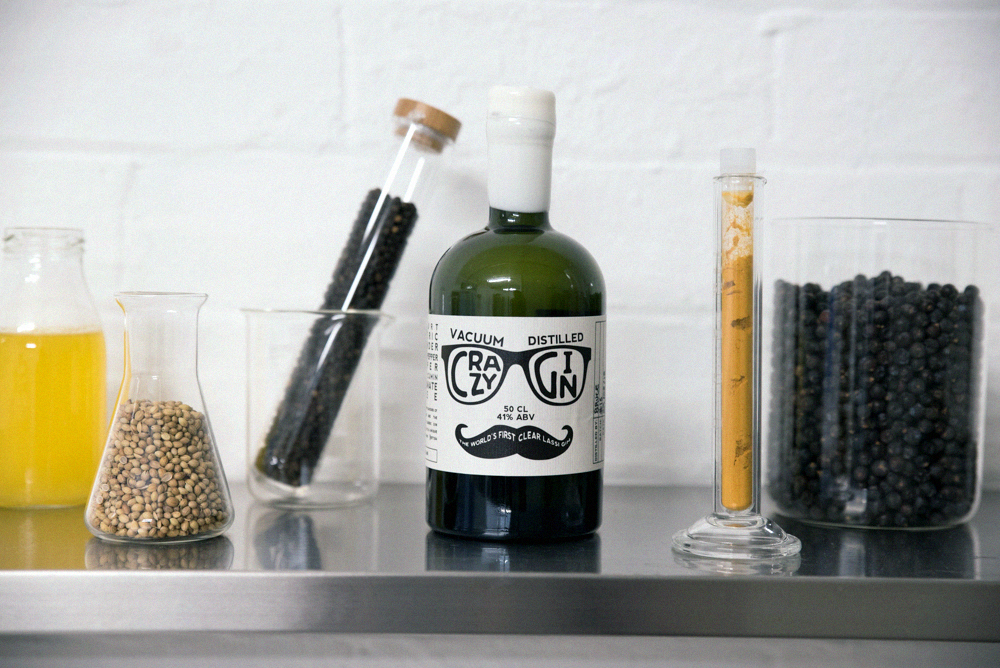 crazy gin spices and botanicals