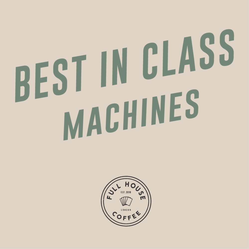 BEST IN CLASS MACHINES - By partnering with the industry's leading manufactures we offer 'best in class' fully automatic bean-to-cup office coffee machines.