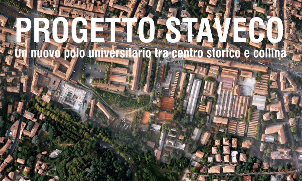 09-05-2013 - Staveco project exhibition - Project STAVECO. A new university campus between the old town and the hills.Exhibition, Aula Magna of Saint Lucia, Via Castiglione 36 Bologna.The exhibition will coincide with the cycle of lectures and readingsclassic