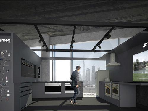 Smeg Pavillion Dubai Design District