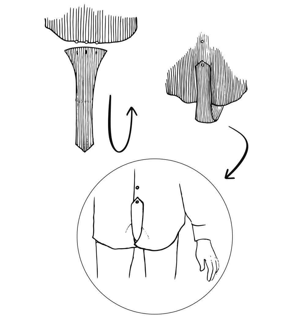 ....  4. How to set and wear the removable strap.  ..  4. Come inserire e indossare la fascia rimovibile.  ....