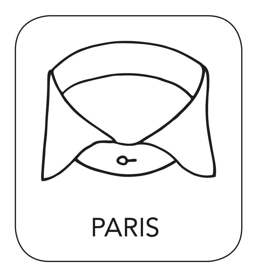 French collar shirt.