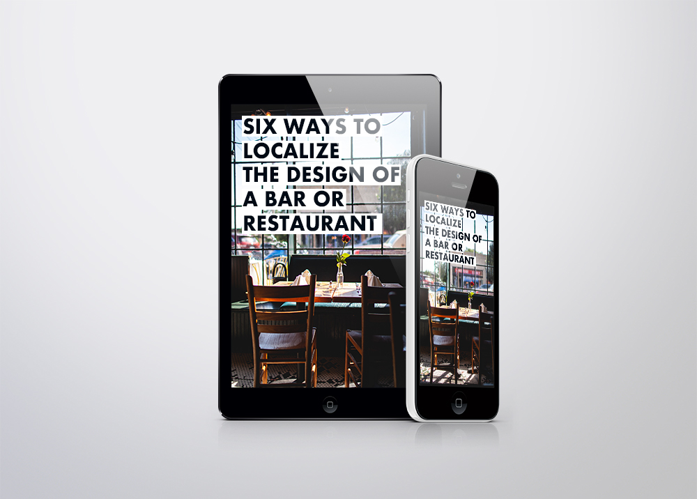"FREE E-BOOK COMING SOON    Gone are the days when a bar or restaurant chain can get away with looking exactly the same in every city and state.  This free guide will introduce you to 6 ways in which you can leverage a global expansion by ""going local"". Download this guide and and keep your patrons engaged in your brand."