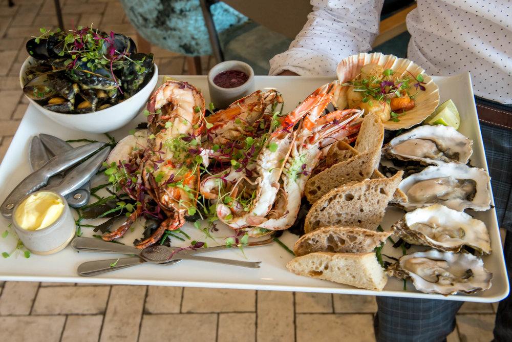 Fish Platter, Cattle & Creel, Helensburgh
