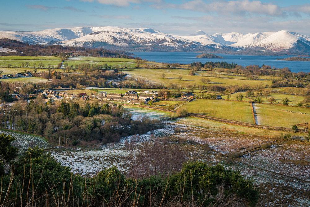 Gartocharn, Loch Lomond Winter