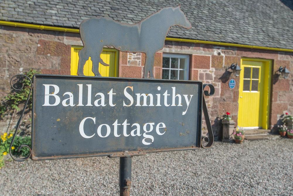 Ballat Smithy Cottage, Balfron Station