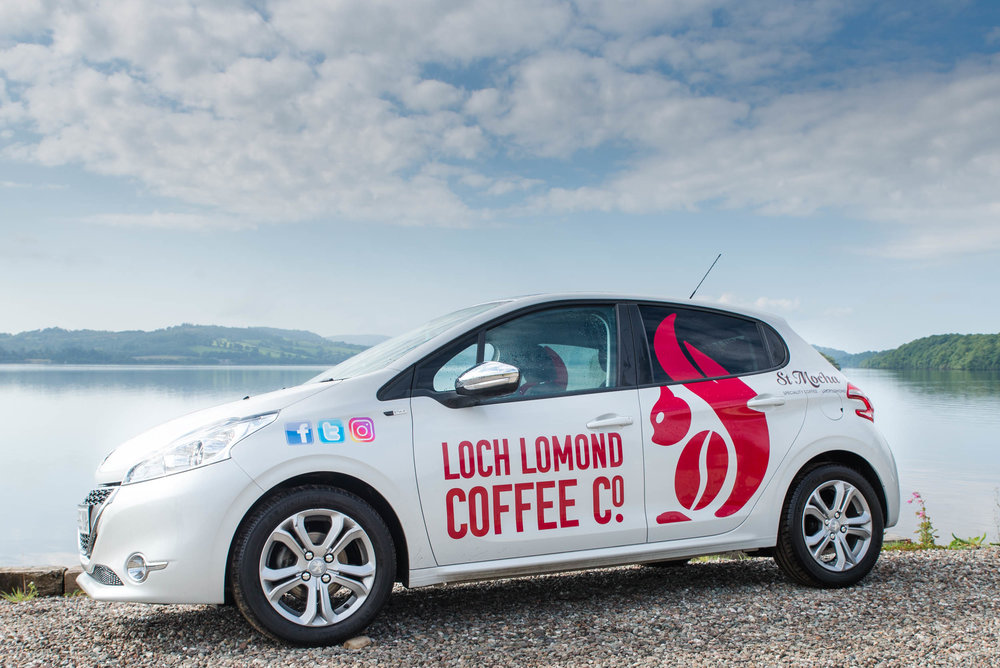 Loch Lomond Coffee Car