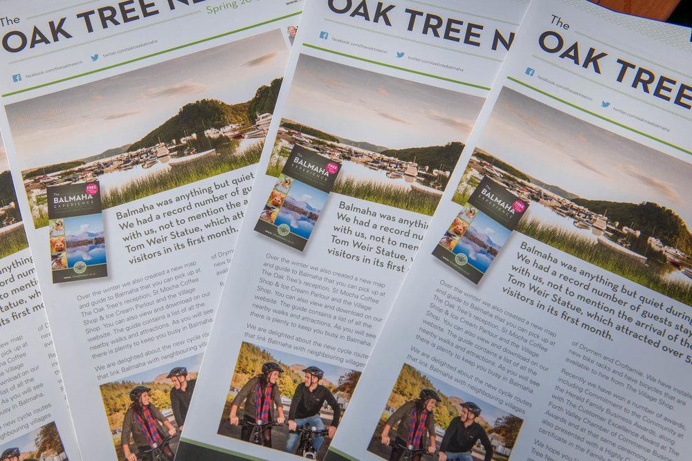 Oak Tree News
