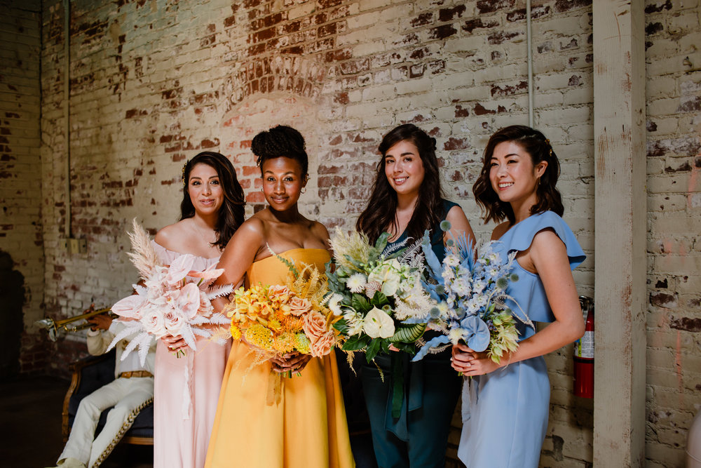 Sharon and Adam Downtown Los Angeles Arts District Wedding Millwick Venue - Eve Rox Photography-291.jpg