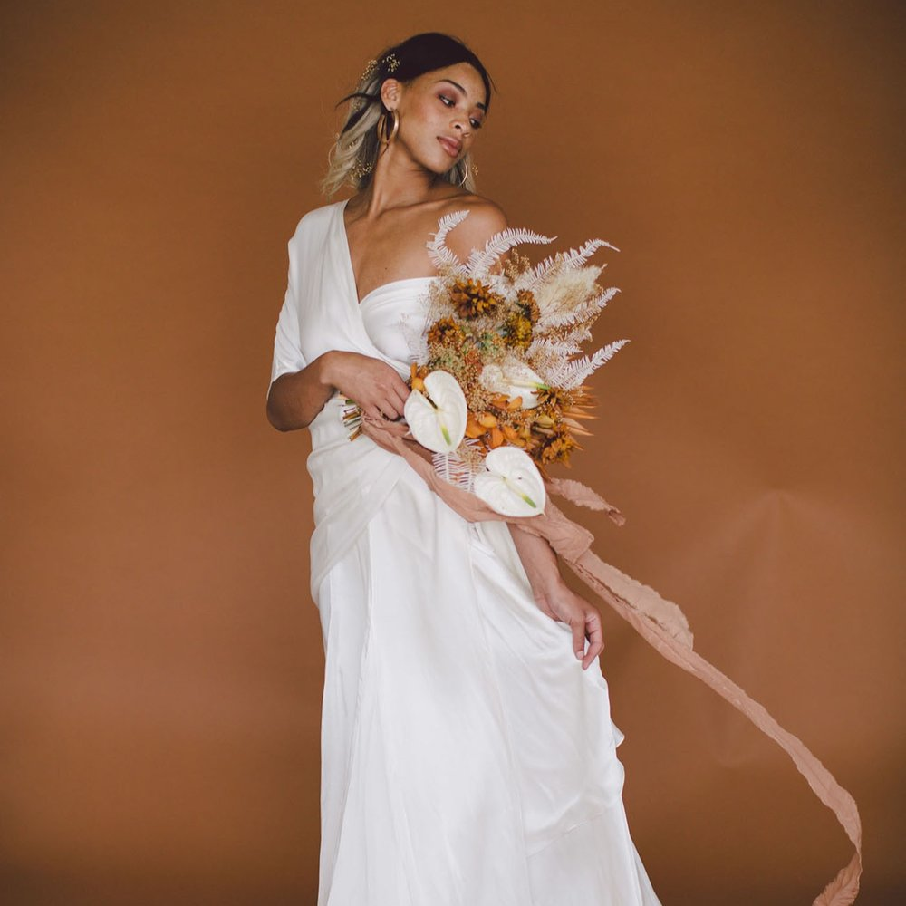 modern + free spirited editorial - featured ongreen wedding shoes