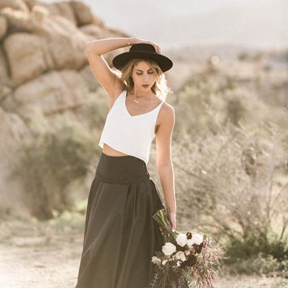 desert bridaleditorial - featured ON100 layer cake