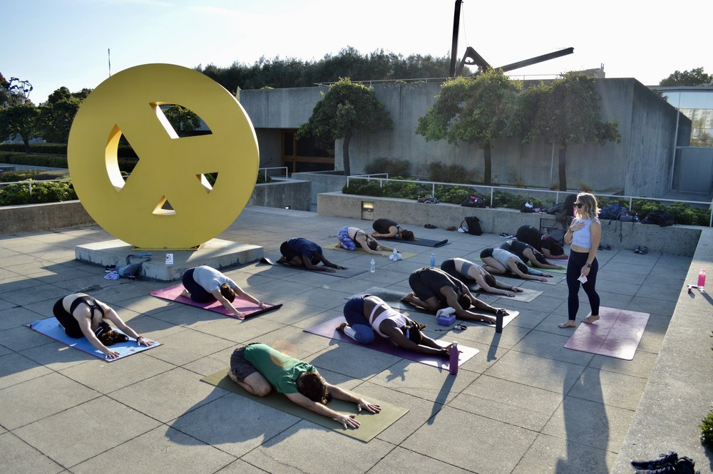OUTDOOR + EVENTS - ANNUAL OAKLAND MUSEUM OF CALIFORNIA (OMCA) YOGA EVENT