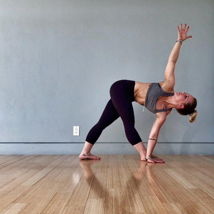 Yoga by Paige Revolved Triangle