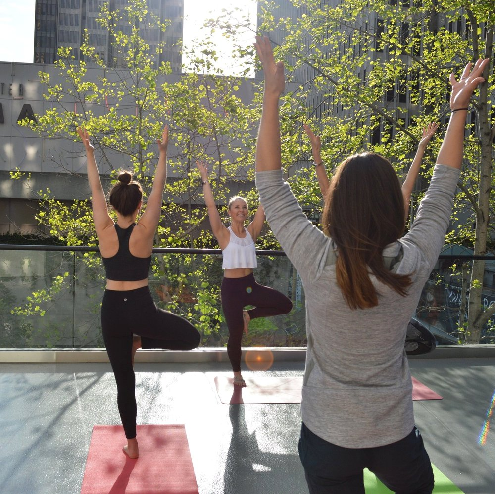 Morning Rooftop Yoga | Le Meridien Hotel, San Francisco