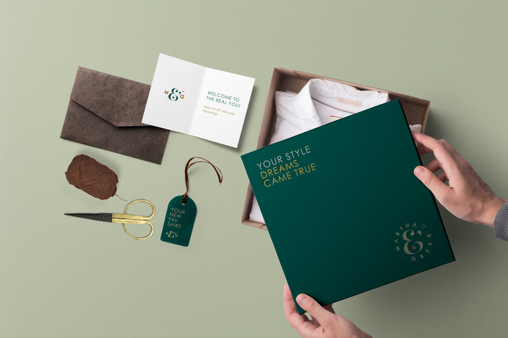 Custom designed mailer shipping box