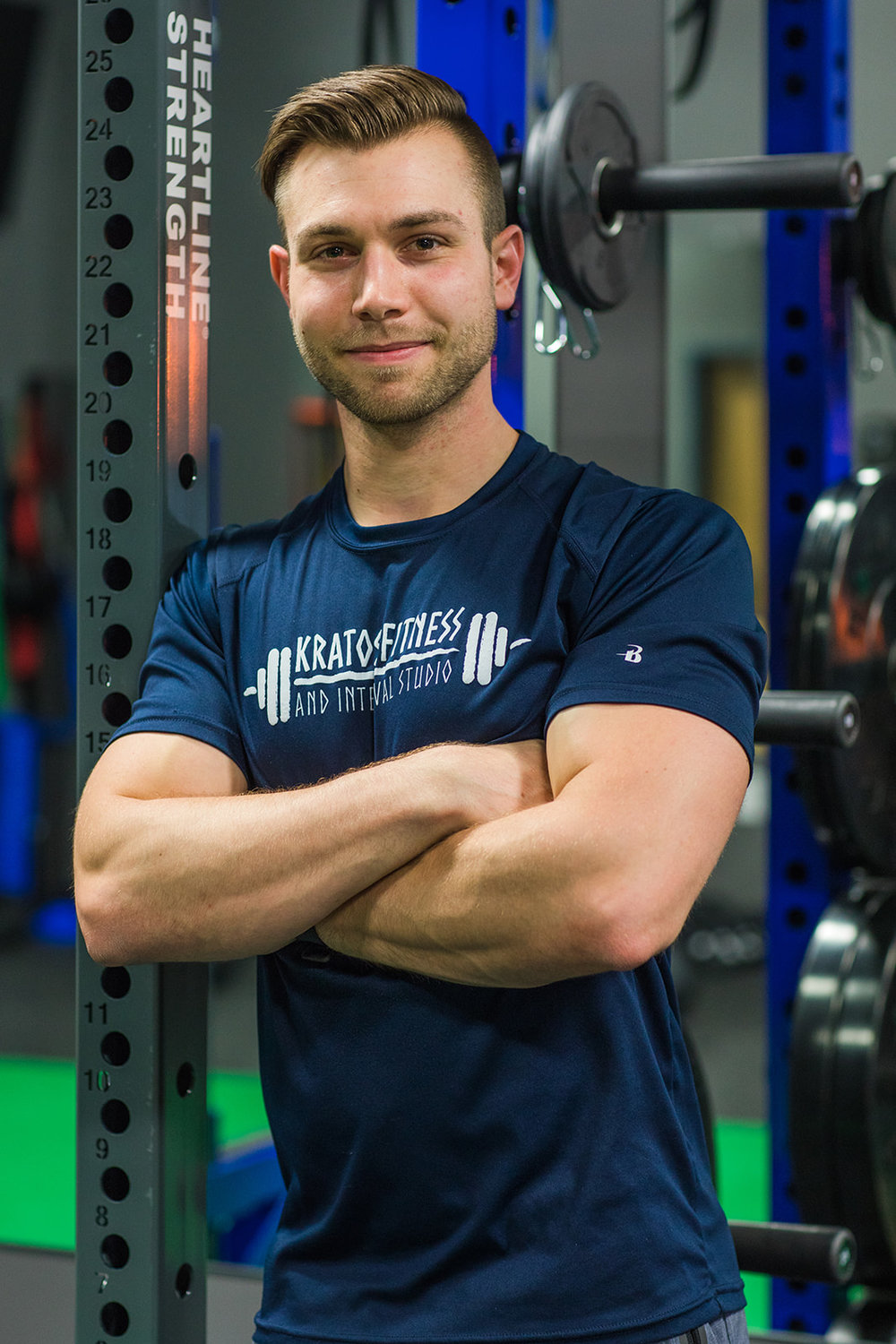 Brian Marple, Trainer - ACSM Certified Exercise Physiologist (EP-C); NSCA Certified Strength and Conditioning Specialist (CSCS); FMS Certified (Functional Movement Screen) B.S. in Exercise Science (Fitness Specialist)My educational requirements have exposed me to a variety of training environments including athletic performance, testing and evaluation, strength and conditioning as well as an internship in a personal training setting. This has allowed me to work with unique clients of all ages with goals ranging from strength, weight loss, weight gain, wellness, and athletic conditioning. Everyone is different. Therefore, as a trainer, I believe it is my job to individualize each program to tailor fit the needs, goals, and abilities of each person I train and be able to modify or progress those programs as their fitness levels evolve.