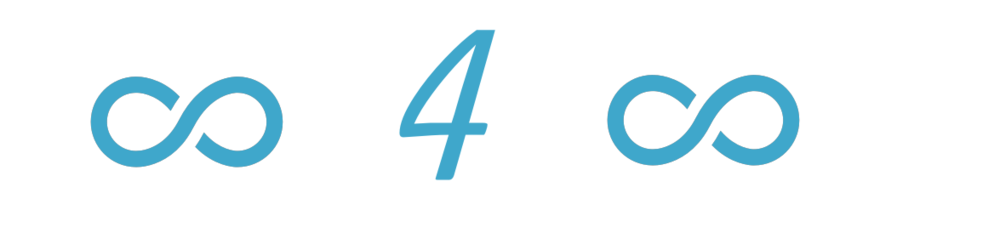 Look4Loops white logo