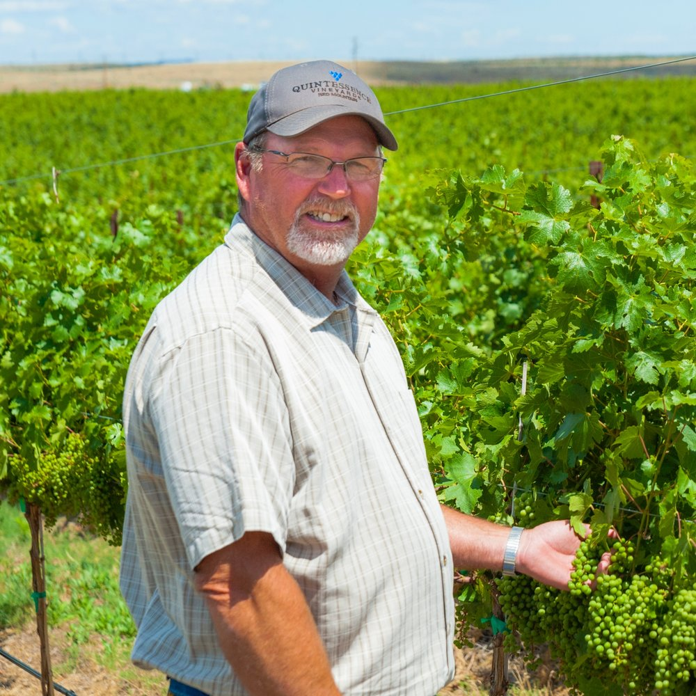 Marshall edwardsvineyard operations manager - With over 30 years of experience in viticulture, Marshall Edwards has played a significant role in some of Washington's largest vineyards, working hand-in-hand with notable winemakers. Many winemakers rely on his passion for excellence and his keen understanding of the vines, soil, and water to deliver the quality of the fruit they desire. Named 2016 Grower of the Year award by the Washington Winegrowers (formerly the Washington Association of Wine Grape Growers), Edwards is the vineyard operations manager for Shaw Vineyards and Northwest Vineyard Management. He oversees Quintessence and Shaw vineyards on Red Mountain, regarded in the top tier of Washington vineyards. His team also manages Obelisco, a 30-acre vineyard that produces grapes for Doug Long's Obelisco Estate.