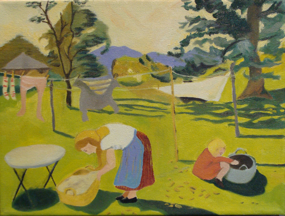 After Laundry by Fairfield Porter