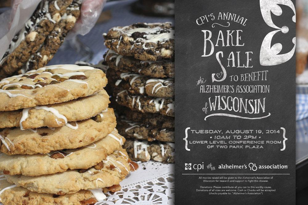 CPI Bake Sale Poster