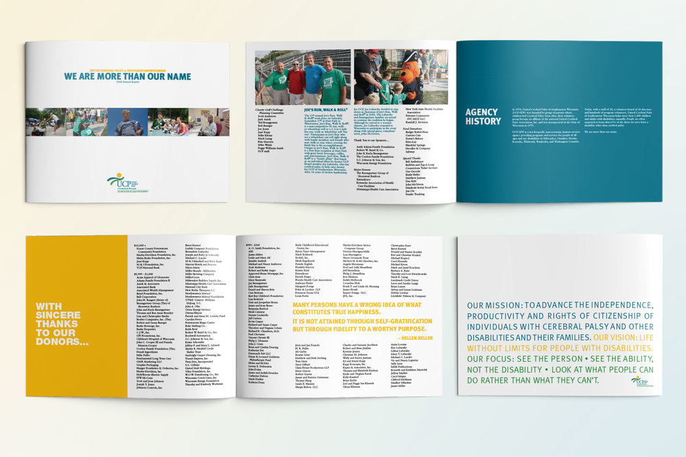 United Cerebral Palsy of Southeastern Wisconsin Annual Report