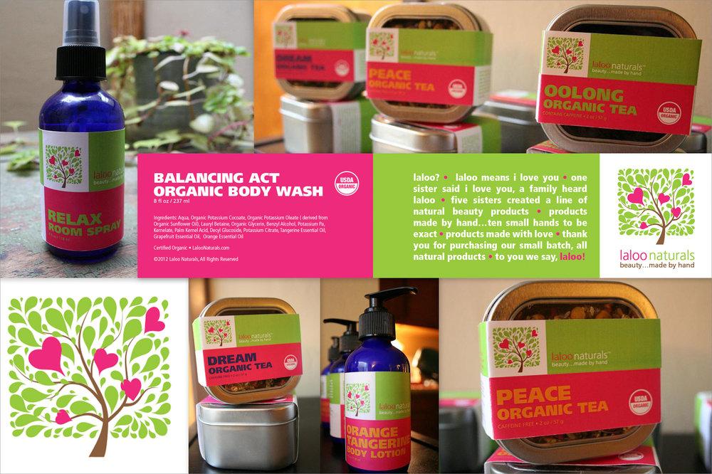 Laloo Naturals Branding & Packaging (2012)