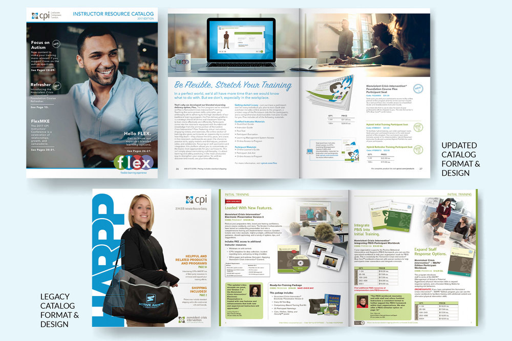 CPI Product Catalog Redesign -