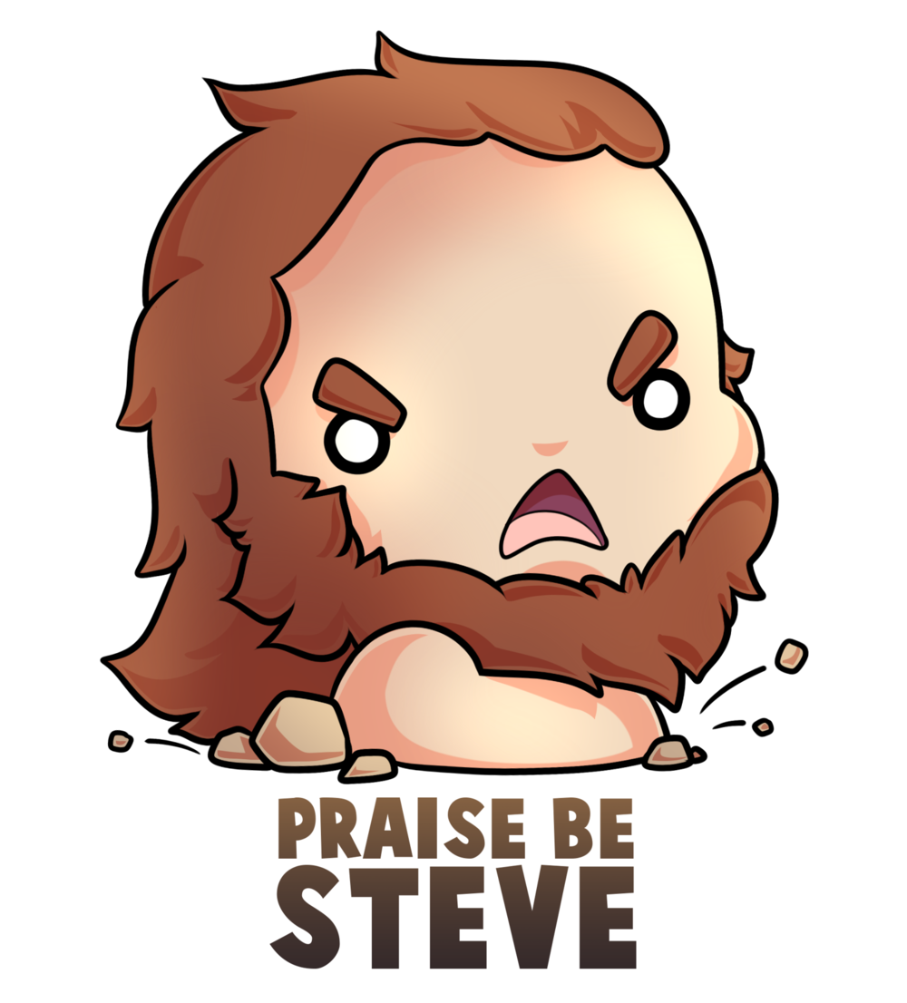Steve the Gopher God by  Seoxys