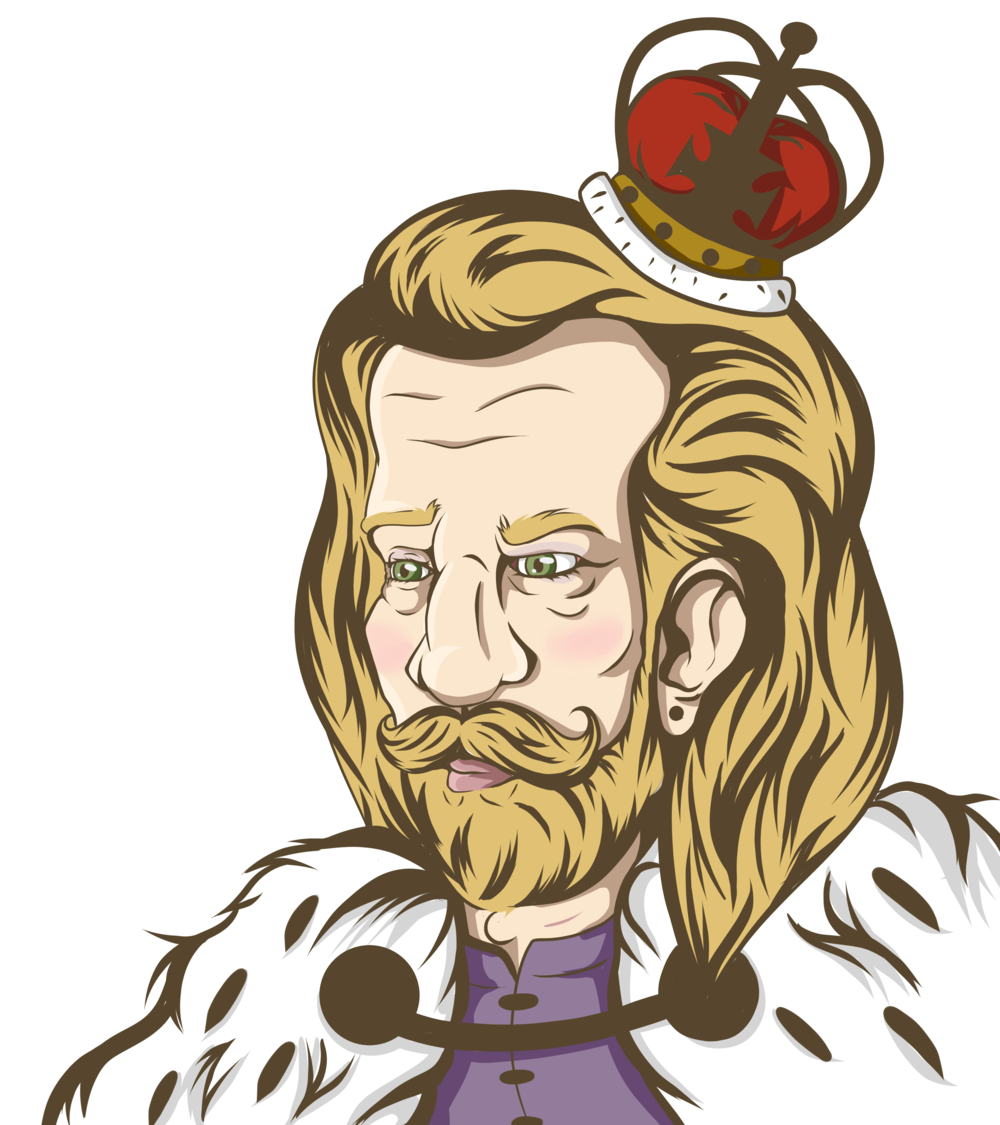King Guillaume by   AwkwardKittyInc