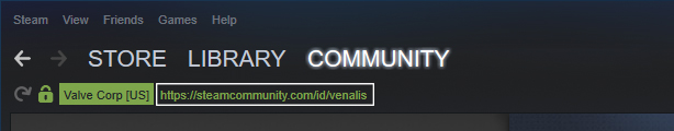 Custom URL : Search that url code  here  and obtain your steam64 ID. Please verify that all the information matches your own. Do  NOT  search your visible steam name or log in username unless it is exactly the same as your custom URL.