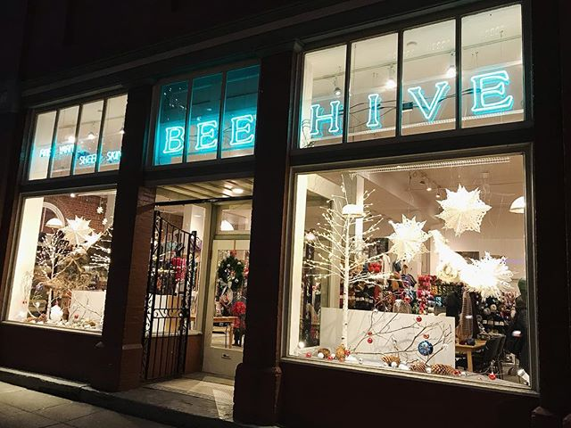 Oh the weather outside is frightful, but my job is SO delightful. Like, for reals. I'm so grateful to my home away from home @beehivewoolshop and for the most INCREDIBLE co-workers and bosses a knitter could ask for. Oh, and all yarn. All of the yarn.