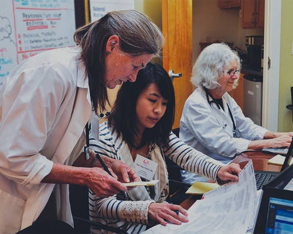 Volunteer - Practice the art of medicine, not the business of healthcare. Not only does Clinic by the Bay offer equitable healthcare, we also provide an opportunity for meaningful civic engagement. Medical and non-medical roles are available.