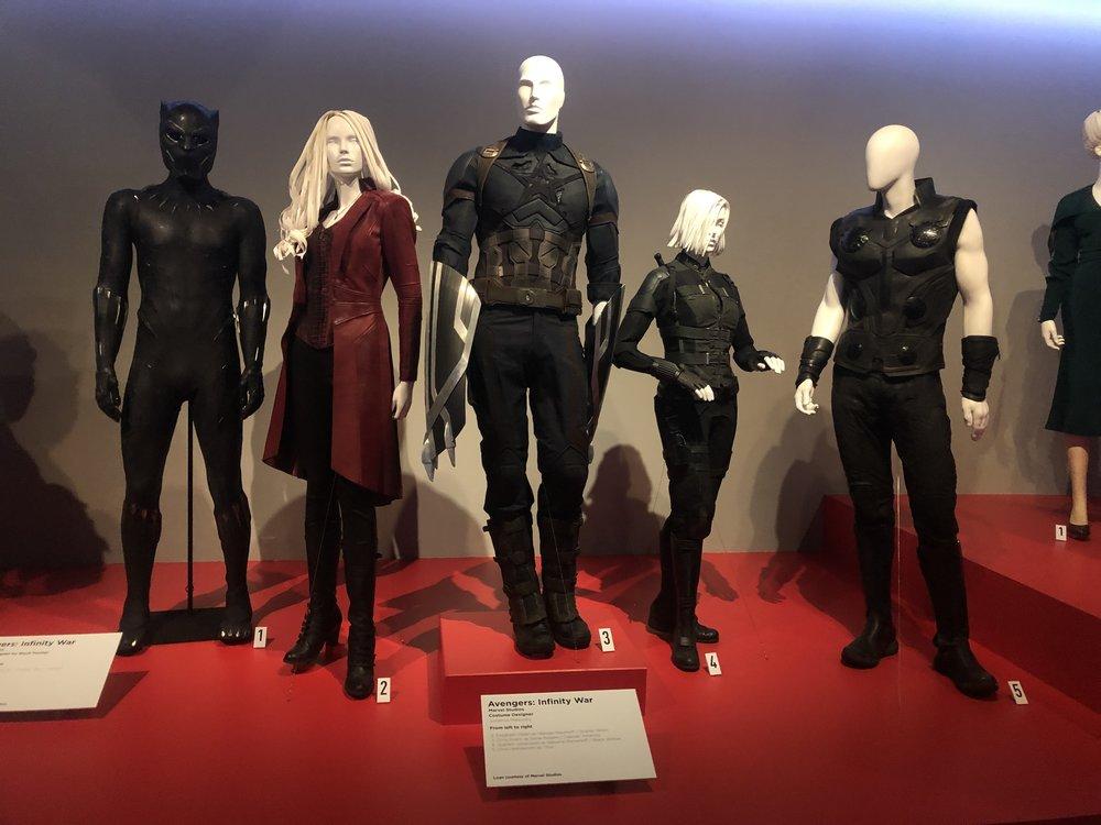 Avenger's Infiniti War Costumes