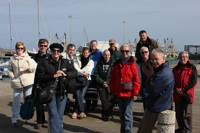 Group photo - The group that went to the Saltees, thank you Roisin for the photo.