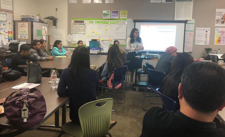 Training educators and students on classroom instruction.