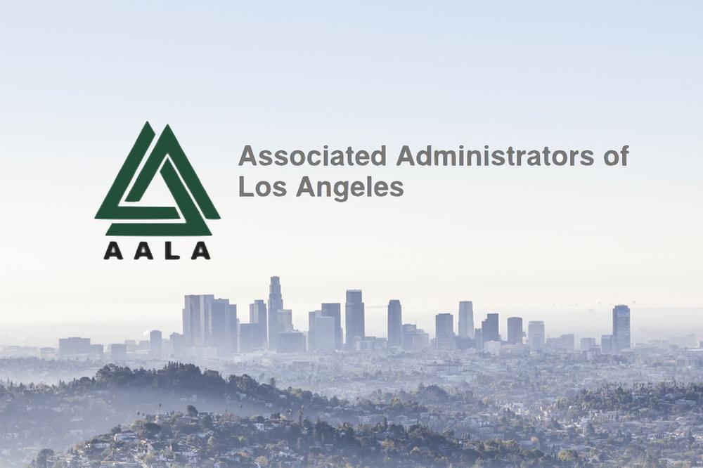 ASSOCIATED ADMINISTRATORS OF LOS ANGELES - Endorses Principal and Parent Dr. Cynthia Gonzalez
