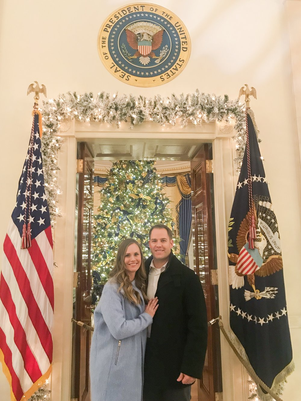 Touring the White House at Christmas is one of the best things you can do in Washington D.C.!