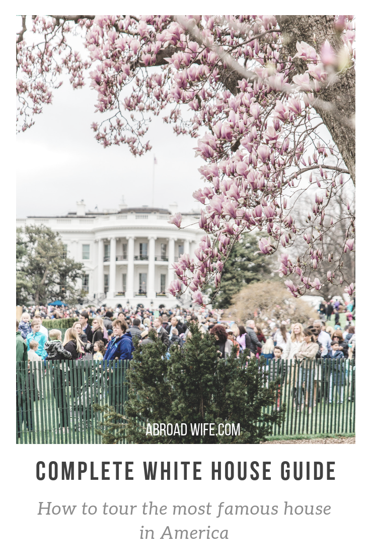 How to Visit the White House! Information on taking tours and attending events at the White House. #whitehousetour #whitehouseeaster #whitehousewashingtondc