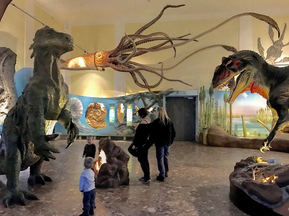 Haus der Natur should not be missed if you are traveling with kids!