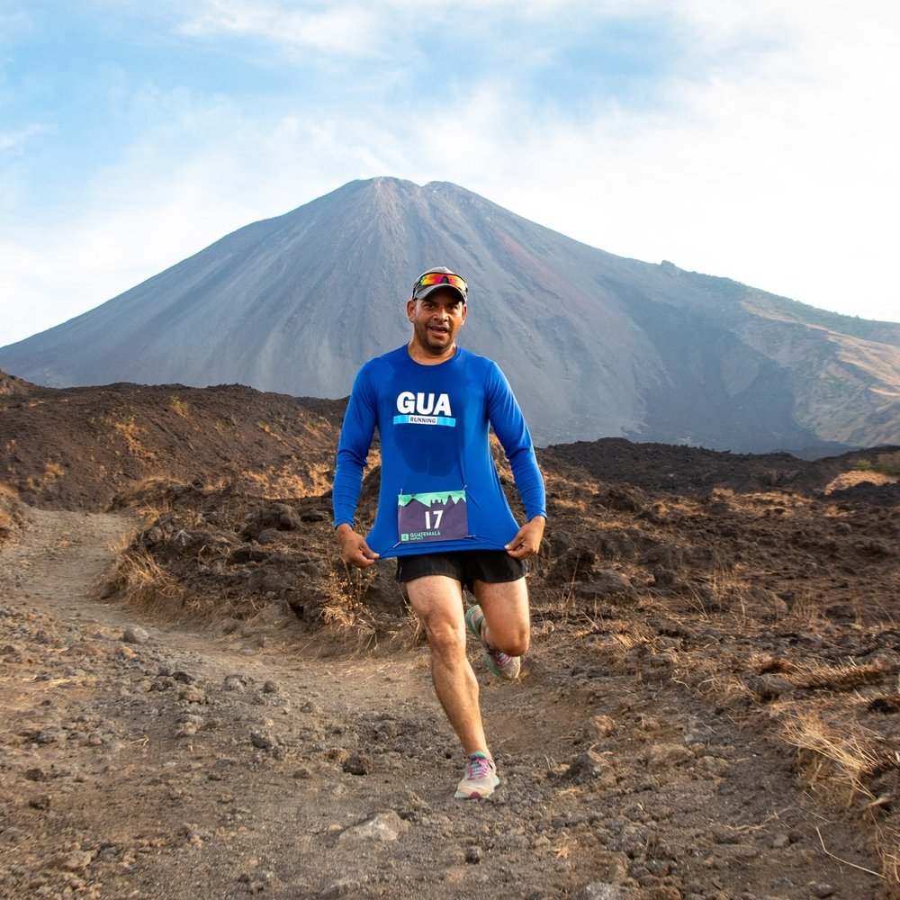 The Race - Completely Iconic. We take an incredible, seriously challenge route on an active volcano.The 10km, 21km & 42km routes all run across the moon-like lava fields around Pacaya Volcano.The 42km even climbs up the slopes until you see the crater and feel it rumbling away below your feet…
