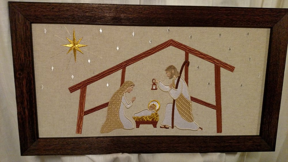 Nativity Design by Julie Schaefer