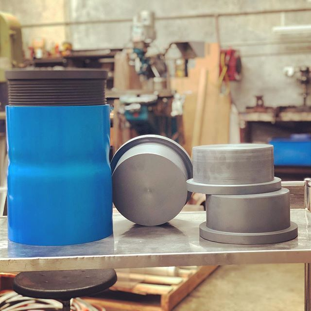 TODAY'S WORK! 👌🏼Machined up some customised threaded PVC reducers and plugs ⚙️🛠⚙️ Used in exploration and mining! . . . #plugs #reducer #machined #machinedwork #mining #exploration #customised #armstrongenergy