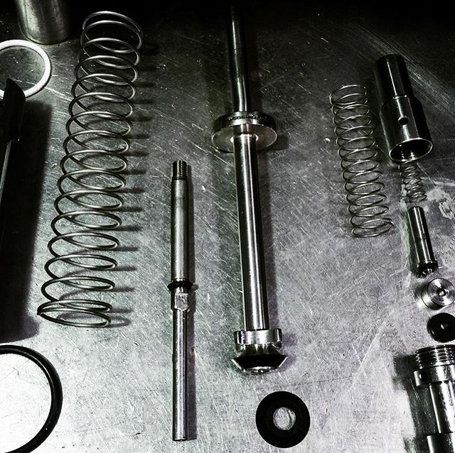 Some of our specialised parts manufactured for the team @jarrahjacks Check out their AMAZING speciality beers! 🍻🍻🍻 . . . #downsouth #douth #bottlingcomponents #beer #tankseals #seals #armstrongenergy