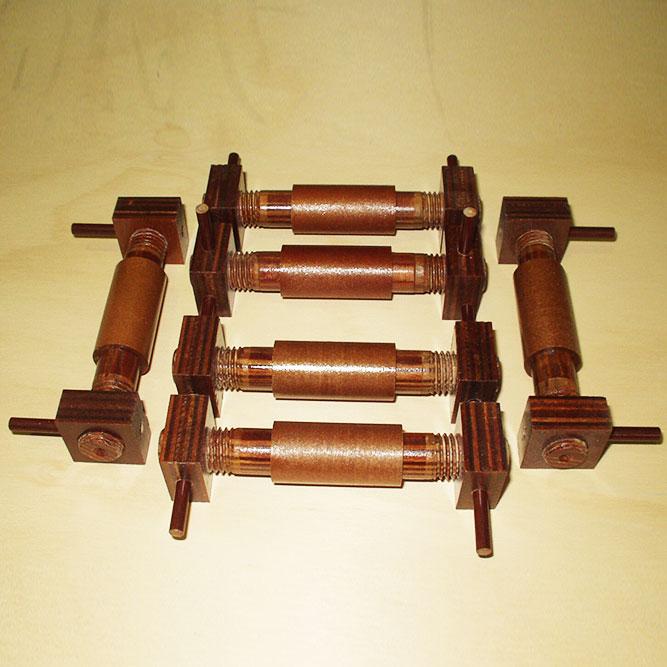 Machined Densified Wood