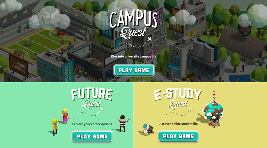 Campus Quest - Curtin University teamed up with 2and2 to create a world-first online gamified experience designed to give players a taste of university life.Learn more