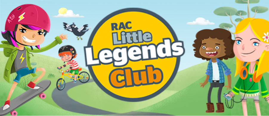 RAC Little Legends Club - Jump on your bike and head for adventure! Explore a game world where kids take charge while learning about road safety.Learn more