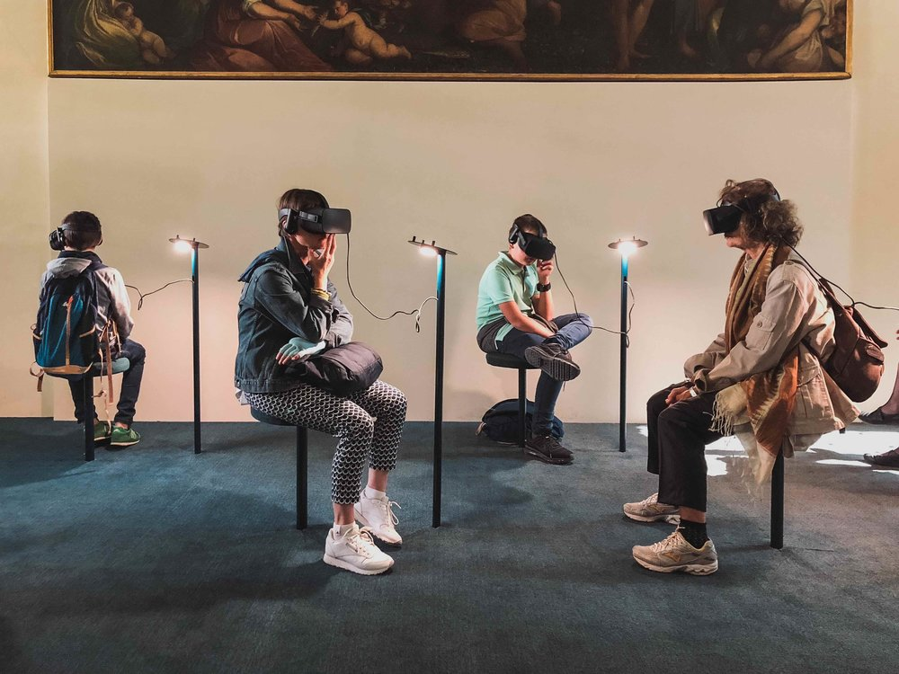 VIRTUAL REALITY (VR) - Learning happens best through doing or being. Using VR's boundary-pushing tools, we can create immersive environments for educating on any subject matter.