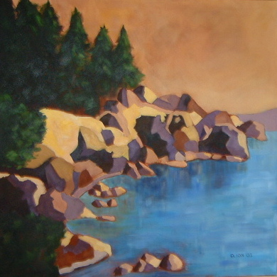 East Sooke Park 30x30 in.